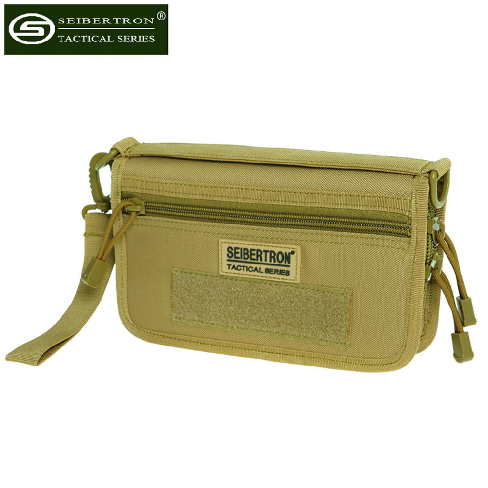 Seibertron Tactical handbag multifunctional handbag purse handmade purse bag card bag for spare parts mobile phone