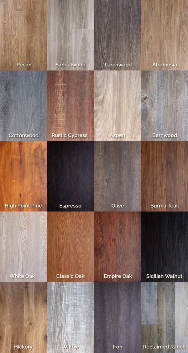 Healthy Vinyl Wood Flooring Pvc Click