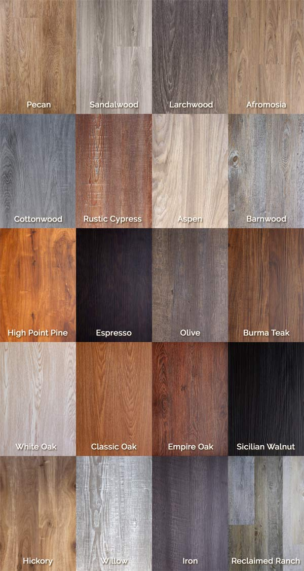 Healthy Vinyl Wood Flooring Pvc Click Flooring Anti Slip