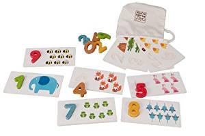 PlanToys Plan Preschool Number 1-10 Baby