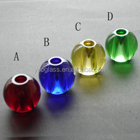 color crystal glass ball for lighting