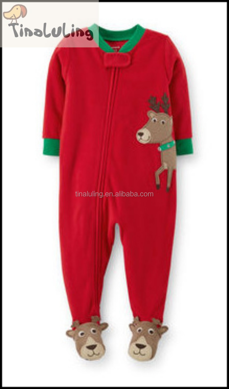Tinaluling Adult Christmas Pajamas,Boys Santa Claus One Piece ...