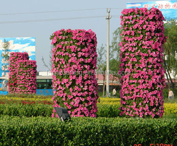 Flower Post Planter Vertical Garden Planters View Flower post