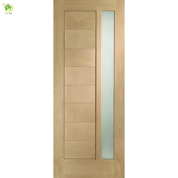 Frosted Glass Luxury Interior Wood Bathroom Doors Romania