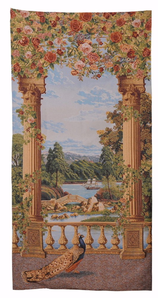 Jacquard woven / large wall tapestries