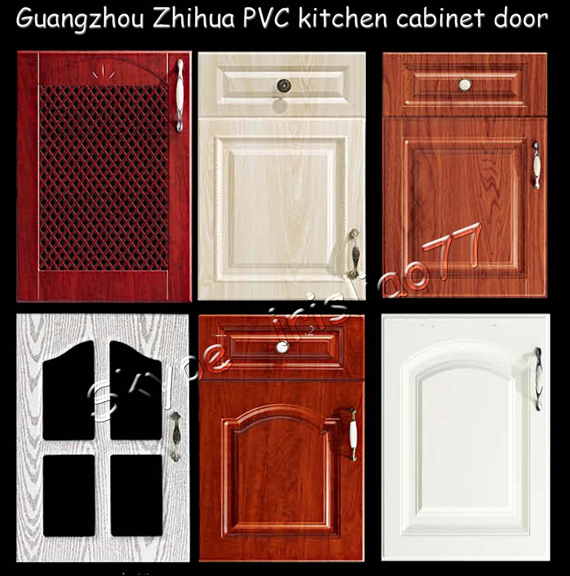 blanco de pvc laminado gabinete de cocina puerta precio ...