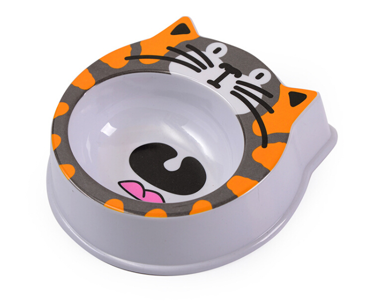 Wholesale Plastic Dog Food Bowls Custom Logo Plastic Cat Pet Bowl