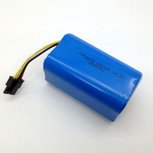 DTP Fast delivery lithium battery 4s2p18650 li-ion battery pack 14.8v for vacuum