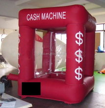 Menarik Inflatable Mesin/Inflatable Money Grabber/Tabung Inflatable
