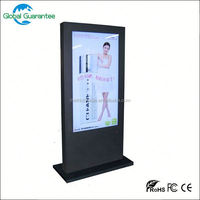 42 inch 3G full HD video digital signage software for Hotel reception