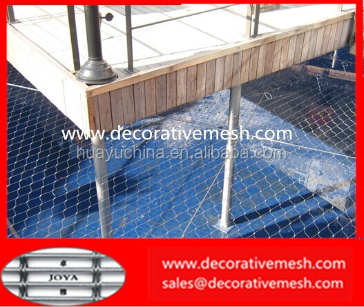 Rope Fencing Screen Joya Architectural Wire Mesh