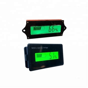 Taidacent Y6 Y6H Y6S Y6D Lithium Battery Power Display Board Lead-acid Electricity Monitor Power Usage Meter Power Meter Cycling