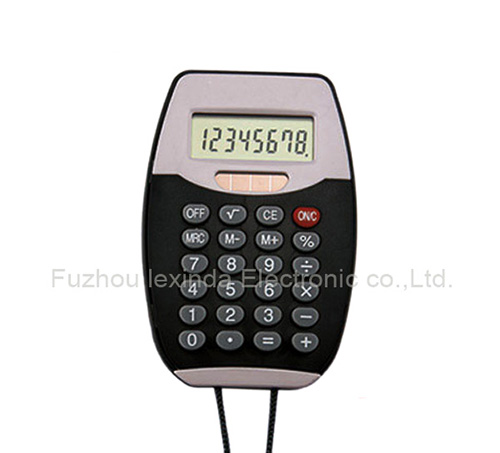 Mini standard function Handheld calculator 8 digital display