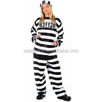 Womens Sexy uniform for prisoner Dress Costume Halloween Adult Carnival Costume QAWC-2536  sc 1 st  Alibaba & Womens Sexy Uniform For Prisoner Dress Costume Halloween Adult ...