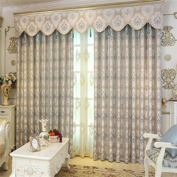Beautiful Jacquard Curtains Valance Curtains Online