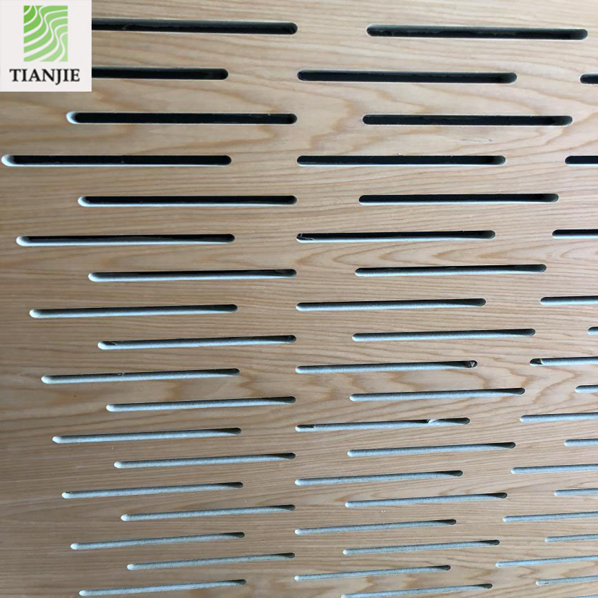 New design acoustic perforated mdf board for Meeting conference room absorbing <strong>panel</strong>