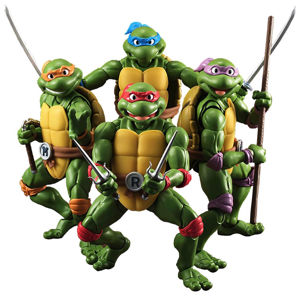 все персонажи черепашек ниндзя фото время снимок этой