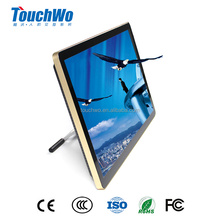 "27"" full hd capacitive touch screen lcd monitor desktop computer linux 1920*1080 with serial Ethernet wifi"