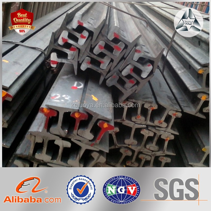 U71Mn U71 45Mn 50Mn U75V 43kg heavy steel rail railway/heavy rail GB Standard 38-75kg/m in good price
