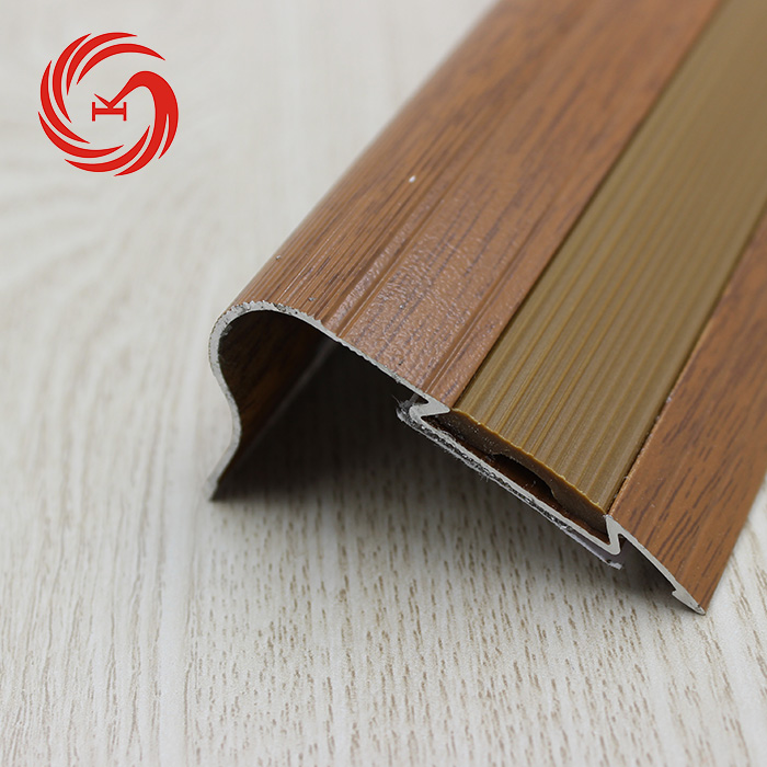 Great Metal Strip Curved Aluminium Stair Nosing Rubber Anti Corrosion Stair Nosing  Strips