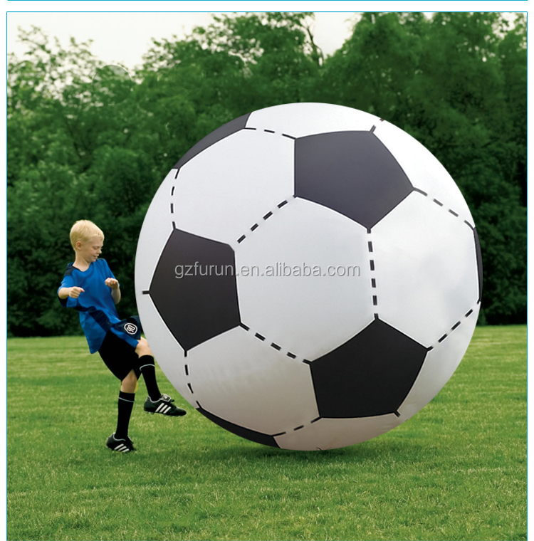 Football sports inflatable beach <strong>ball</strong> for outdoor games