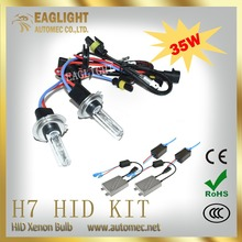 Hot Sale Super Bright accessory lamp Car Lighting 3200LM hid xenon kit 12v 35w 6000k H7