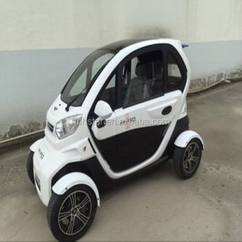 Nice Design High Quality 4 Wheel Electric Car With Sd