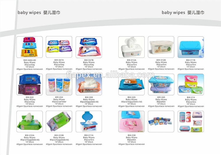 Professional sanitary paper manufacturer cheapest baby wet wipes in China
