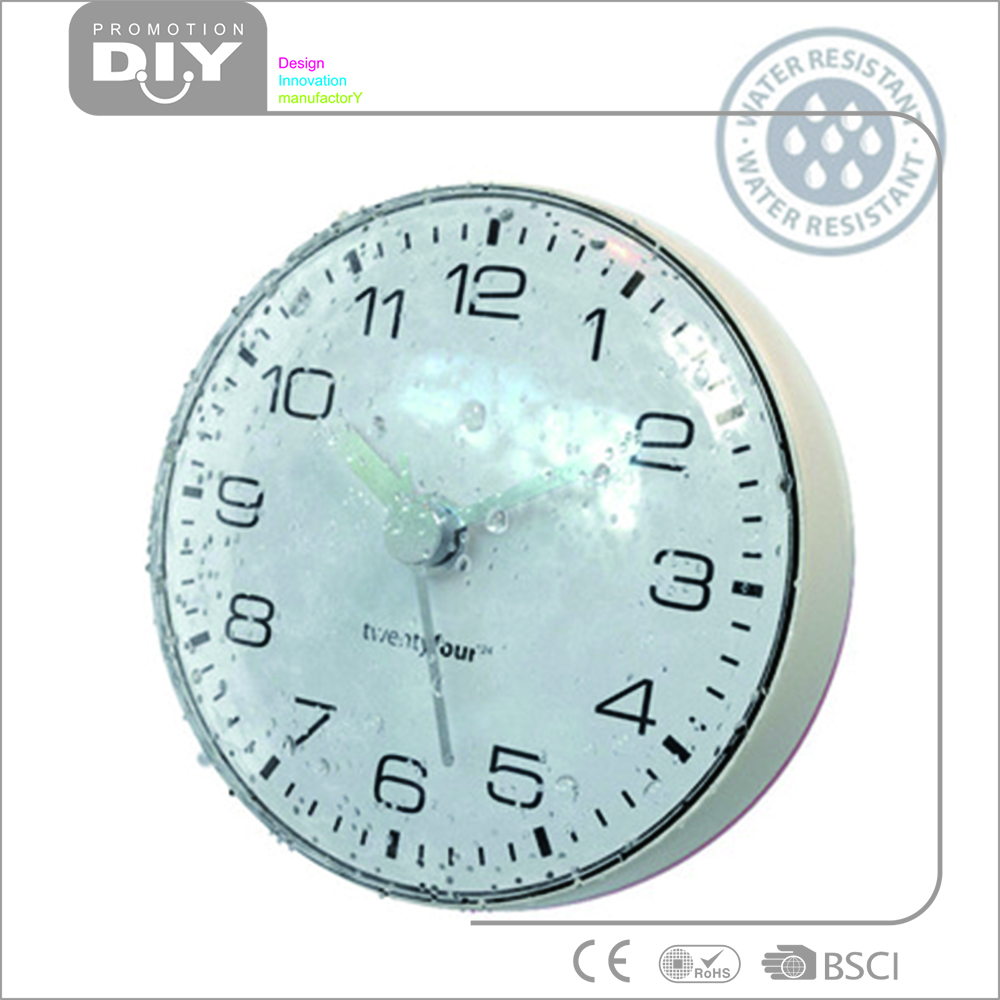 Clocks for bathroom wall - Waterproof Bathroom Clock Waterproof Bathroom Clock Suppliers And Manufacturers At Alibaba Com