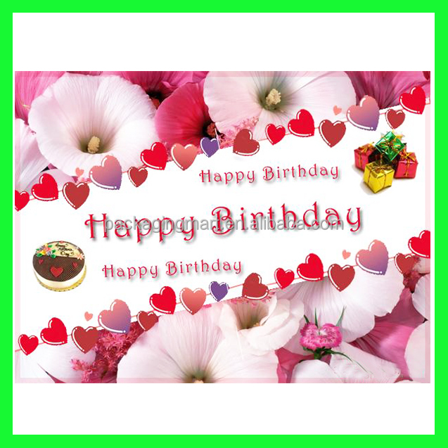 N771 Fun 123 Birthday Wishes Card3d Greeting Card Wholesale – 123 Birthday Greeting