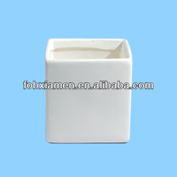 Wholesale Square Ceramic Glaze Tall White Vases For Wedding Buy
