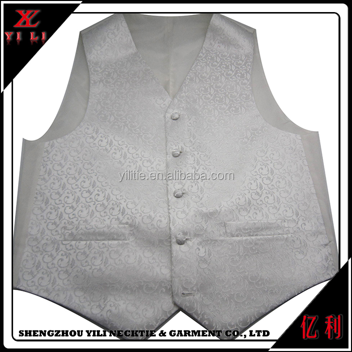 China made cheap soft fashionable men's wedding men vest
