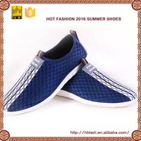 2017 TEDI latest mesh upper casual branded summer shoes men sport footwear