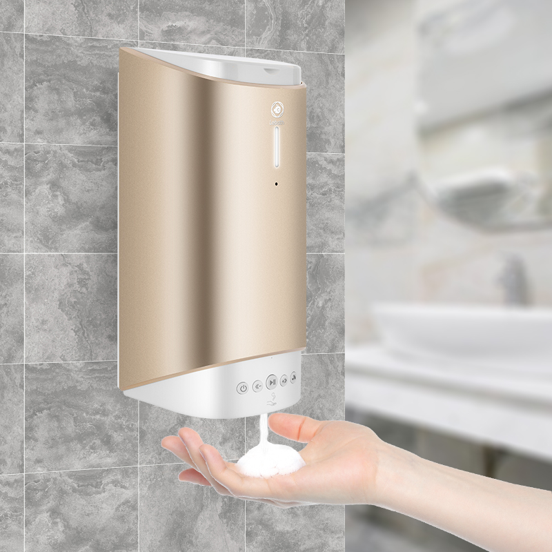 Wall mounted disposable cartridge smart soap dispenser