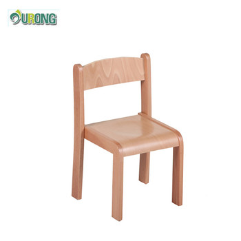 Small Wood Children Chair Type And Wood Material Cheap Daycare Center  Furniture Child Chair