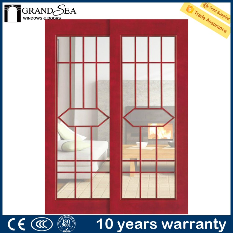 Factory wholesale price house interior solid core wooden flat door prices