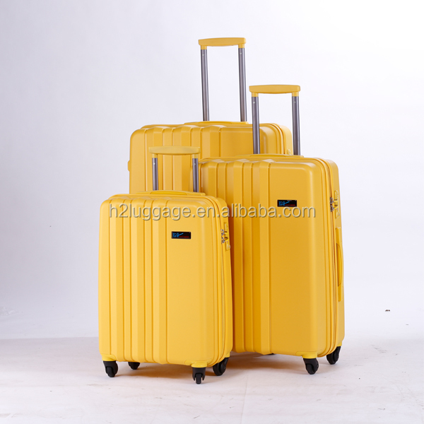 Unique PP Luggage set/ PP trolley bags