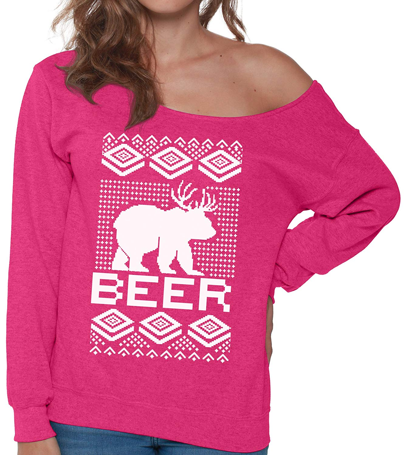 Vizor Wine is My Valentine Sweatshirt Off The Shoulder Valentines Day Wine Off Shoulder Sweater Wine Gifts for Her