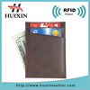 Wholesale leather card holder/credit card case/men card holder