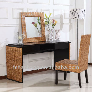 Large Trendy Wicker Dressing Table Set, View wicker dressing table ...