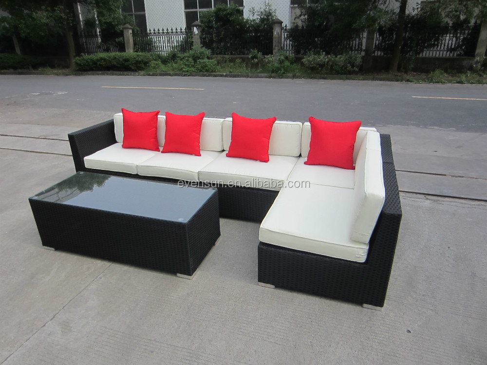 hochwertige rattan ecksofa wohnzimmer sofa produkt id 60104140378. Black Bedroom Furniture Sets. Home Design Ideas