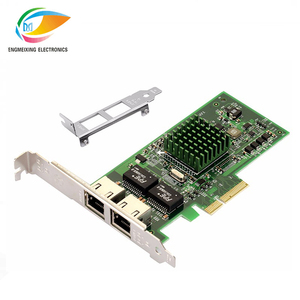 good price gigabit Dual Port BCM5709 PCI Express sever network card