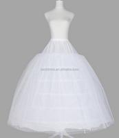 White wedding Crinoline Petticoat Underskirt veil