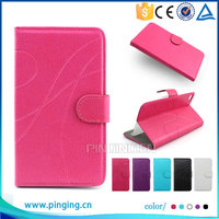 Top popular wallet card slot/holder universal mobile phone back cover Flip pu leather case for Cherry Mobile flare s3 power