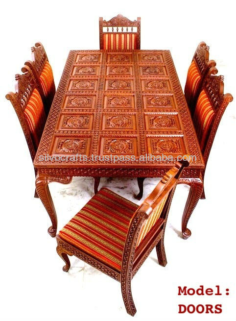 indian carved dining table. indian carved dining table l