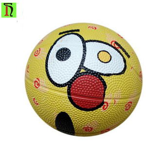 M&M's chocolate basketball mini size 1 customize logo Promotion rubber material child toys basketball