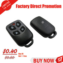 Key smart 4+1 Buttons Remote Car flip key shell car key shell for proton flip key