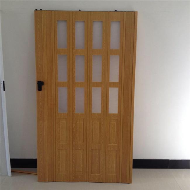 Hecho en china pvc puerta corredera puerta plegable acorde n puerta para ba o buy hecho en - Puerta plegable bano ...