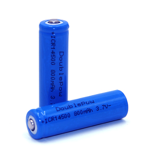 14500 3.7v 800mah Lithium Ion Rechargeable Battery For Power Tools 14500 Battery With CE Certificate