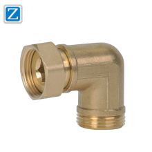 CNC Machining Products Precision Hot Forging Brass Pipe Fittings Parts